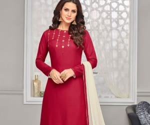 indian fashion, indian clothing, and salwar suits image