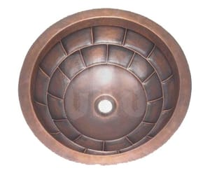 copper oven hood, copper kitchen vent hoods, and copper range hoods image