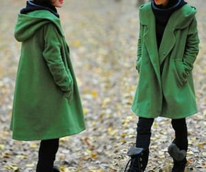 etsy, wool coat, and wool cape image