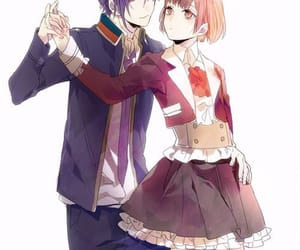 dance with devils, anime, and couple image