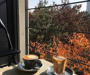 autumn, coffee, and orange kép