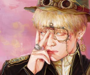 art, kpop, and v image