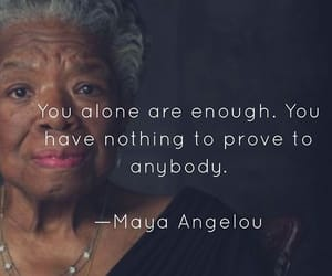 maya angelou, poem, and poetry image
