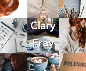 fray, clary, and shadowhunter image