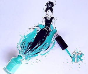 art, film, and holly golightly image