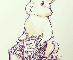 animals, art, and bunny image