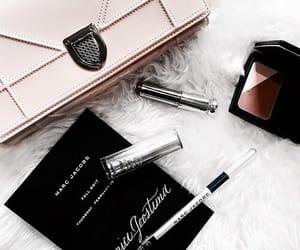 fashion, bag, and lipstick image