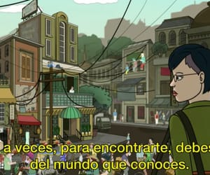 broken heart, cartoon, and frases image
