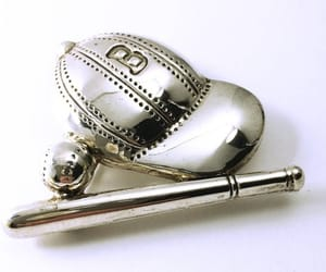 athletics, sterling silver, and vintage jewelry image