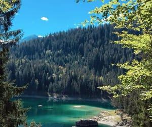 Alps, beautiful, and lake image