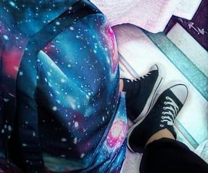converse, galaxy, and school image