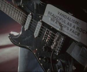 guitar, grunge, and kurt cobain image