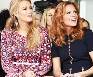 blake lively and fashion week image