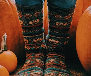 fall, pumpkin, and aesthetic image