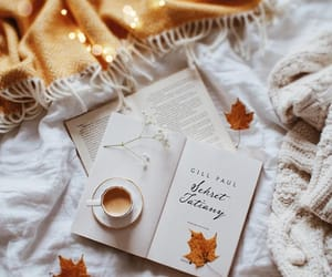 autumn, bedroom, and blanket image