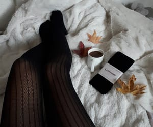 automne, cofee, and fall image
