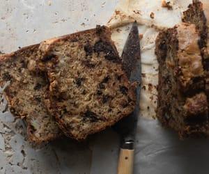 banana bread, bread, and breakfast image
