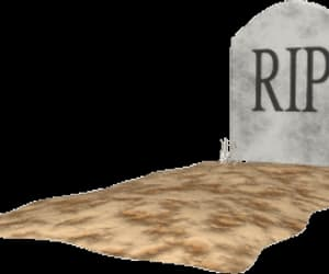 arm, gif, and gravestone image