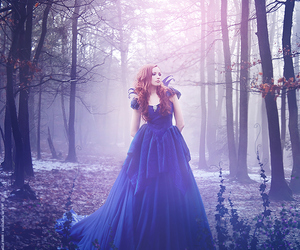 forest, fantasy, and girl image