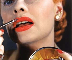 Lucille Ball and vintage image