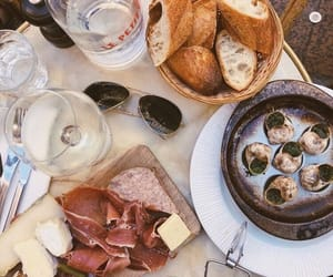 bread, clams, and food image