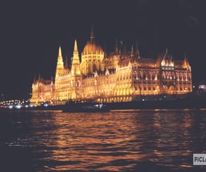 budapest, building, and danube image