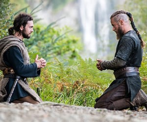 vikings, athelstan, and ragnar image
