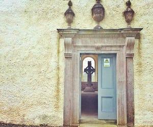 cross, doorway, and ireland image