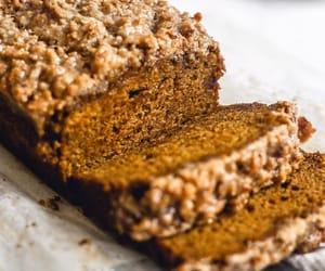autumn, banana bread, and breakfast image