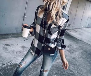 fashion, fashion blogger, and jeans image