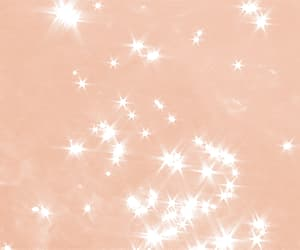aesthetic, sparkles, and peach aesthetic image