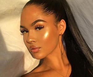 beautiful women, makeup goals, and pretty girls image