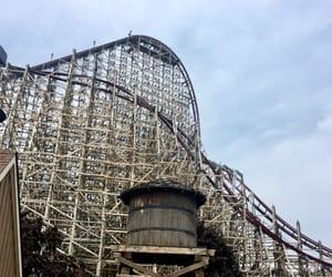 amusement park, coaster, and ohio image