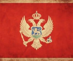 Montenegro, crna gora, and zastava image