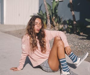 beauty, fun, and girl image