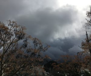autumn, cloud, and cold image