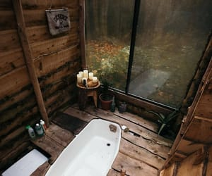 bathroom, autumn, and cozy image