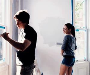 gif, Mila Kunis, and mark wahlberg image