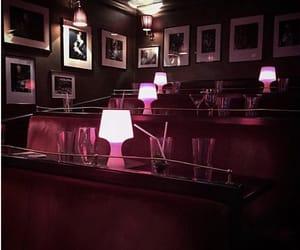 club, dark, and london image
