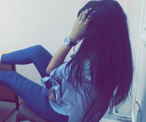 blue, snapchat, and رمزيات بنات image