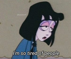 tired, quotes, and people image