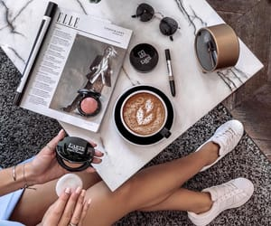 beauty, blush, and cappuccino image
