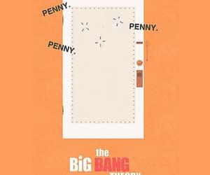 big bang theory, comedy, and door image