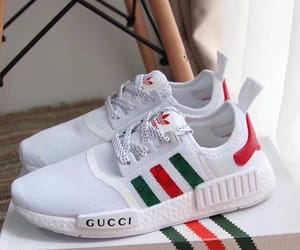 gucci, adidas, and shoes image