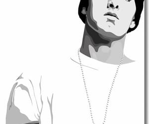 art, eminem, and hip hop image