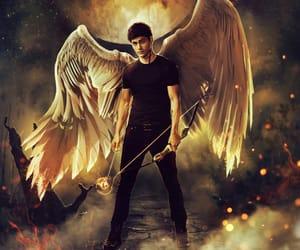 angel, art, and matthew daddario image