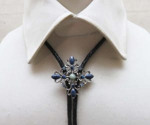 bola tie, etsy, and string ties image