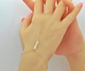 etsy, slave bracelet, and ring bracelet image