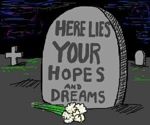 dreams, hopes, and rip image