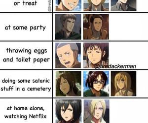 anime, manga, and snk image